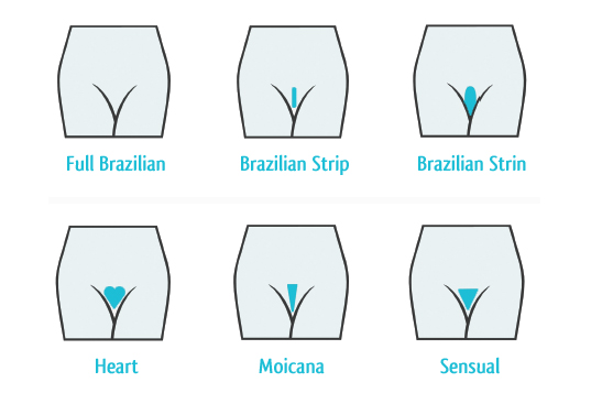 types of pubic hair styles pubic design health info 9236