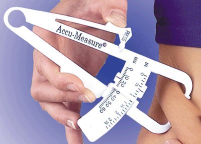 Body fat calculator fat caliper