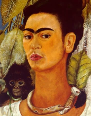 Famous Painting Of Woman With Unibrow