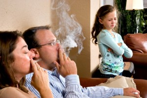 Passive and active smoking