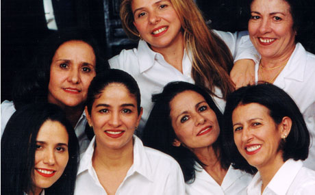 Jocely, Jonice, Joyce, Janea, Jussara, Juracy and Judseia Padilha.