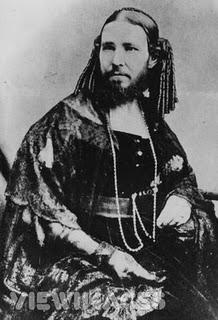 Bearded Lady - Josephine Clofullia-