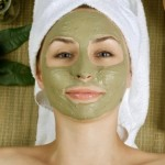 Rosacea green tea mask