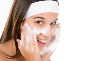 skin cleansing foaming