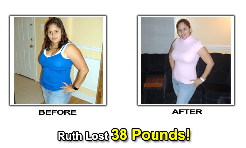 Ruth Lost Weight By Diet & Exercise