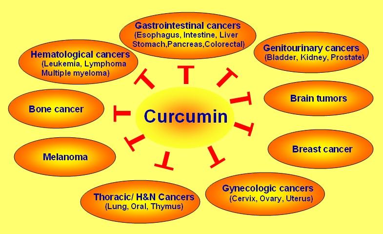 Anticancer curcumin