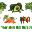 Fat burning vegetables
