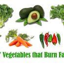Fat burning vegetables